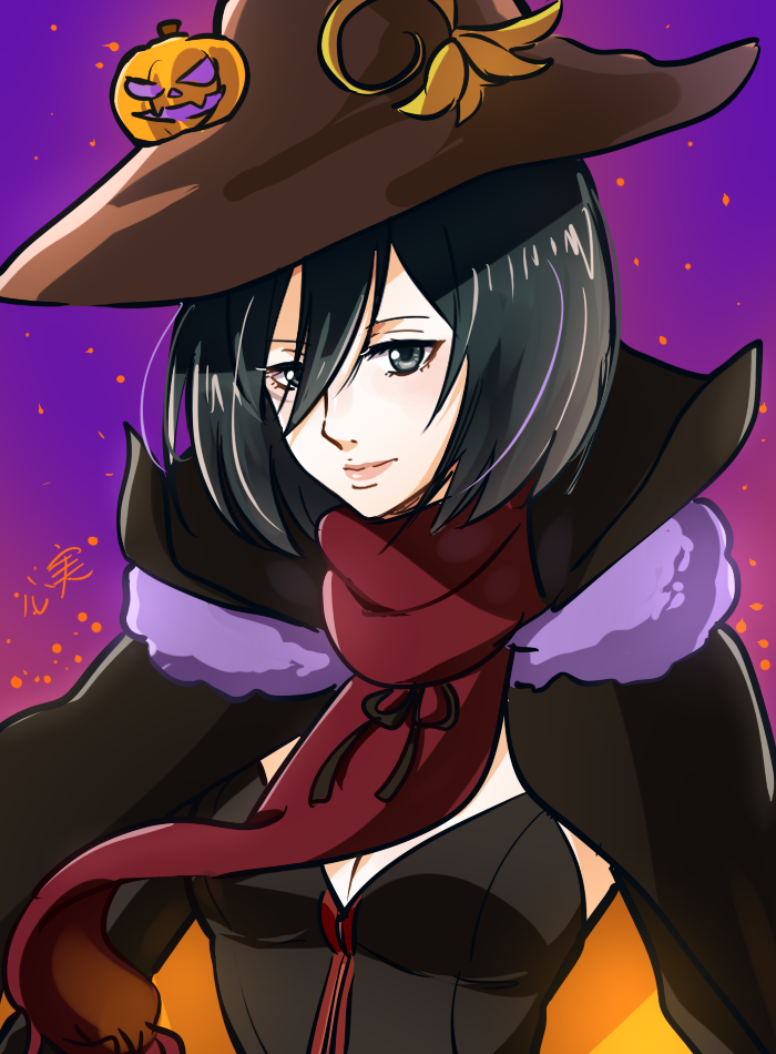 witch mikasa for halloween! | Zombie prom queen costume ...