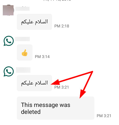 Read Whatsapp Messages Deleted By The Sender Messages Whatsapp Message Reading
