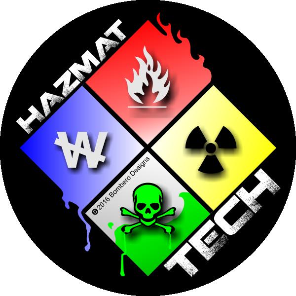 HAZMAT Tech Sticker Firefighter gear, Firefighter, Stickers