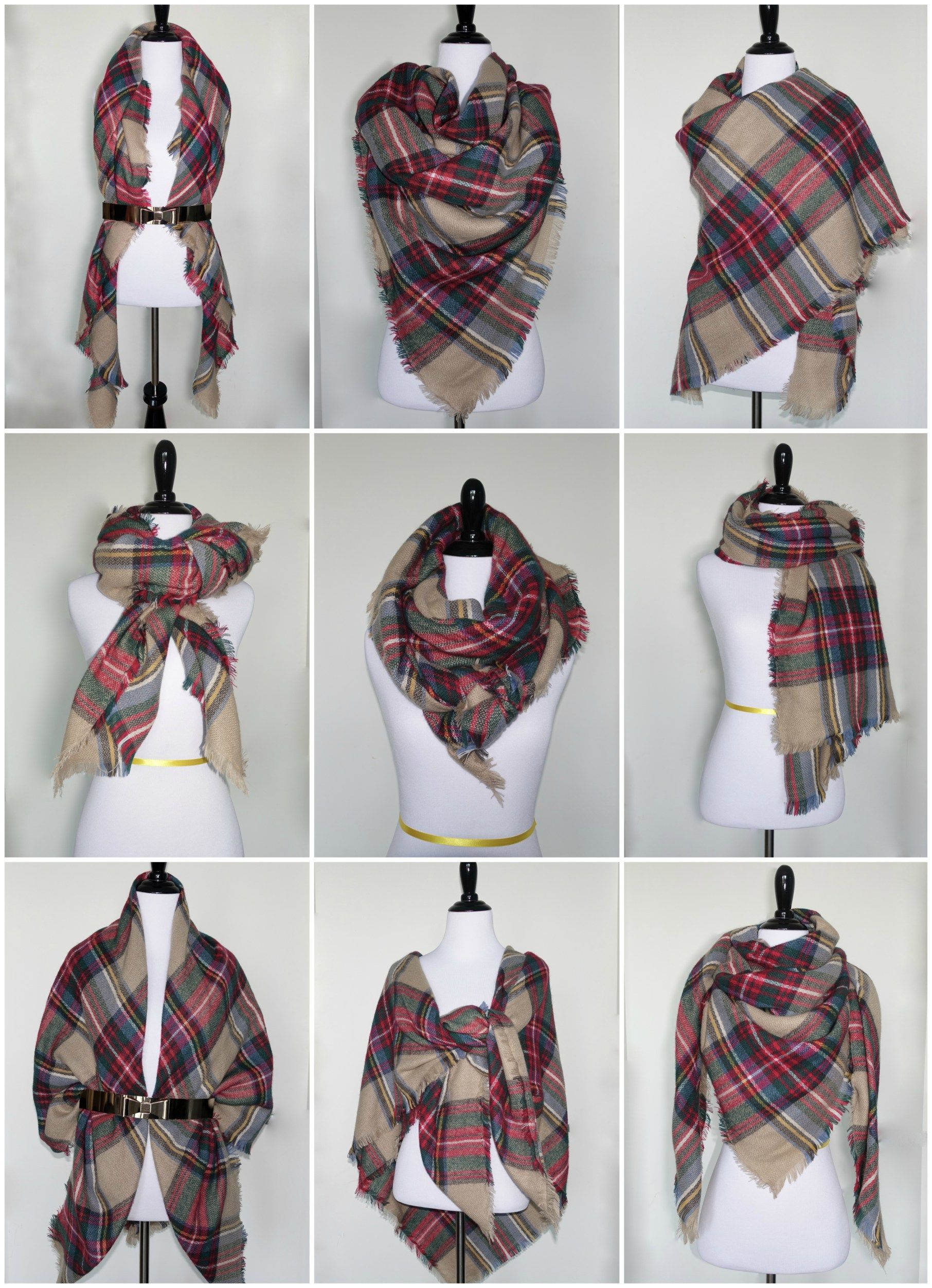 9 Ways to Style a Blanket Scarf for Petites  3ba1d0f438547
