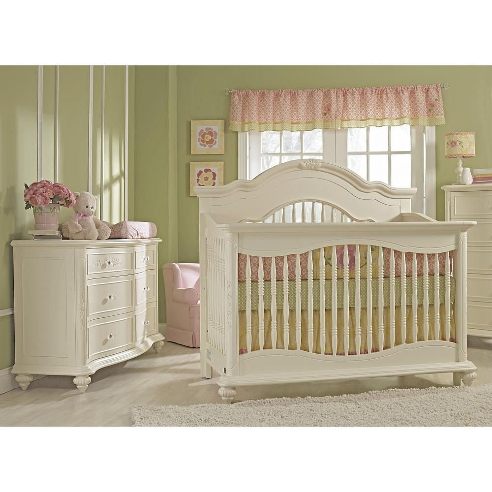 Cuna Baby Cache Chantal 4 1 Convertible Blanco 6 999