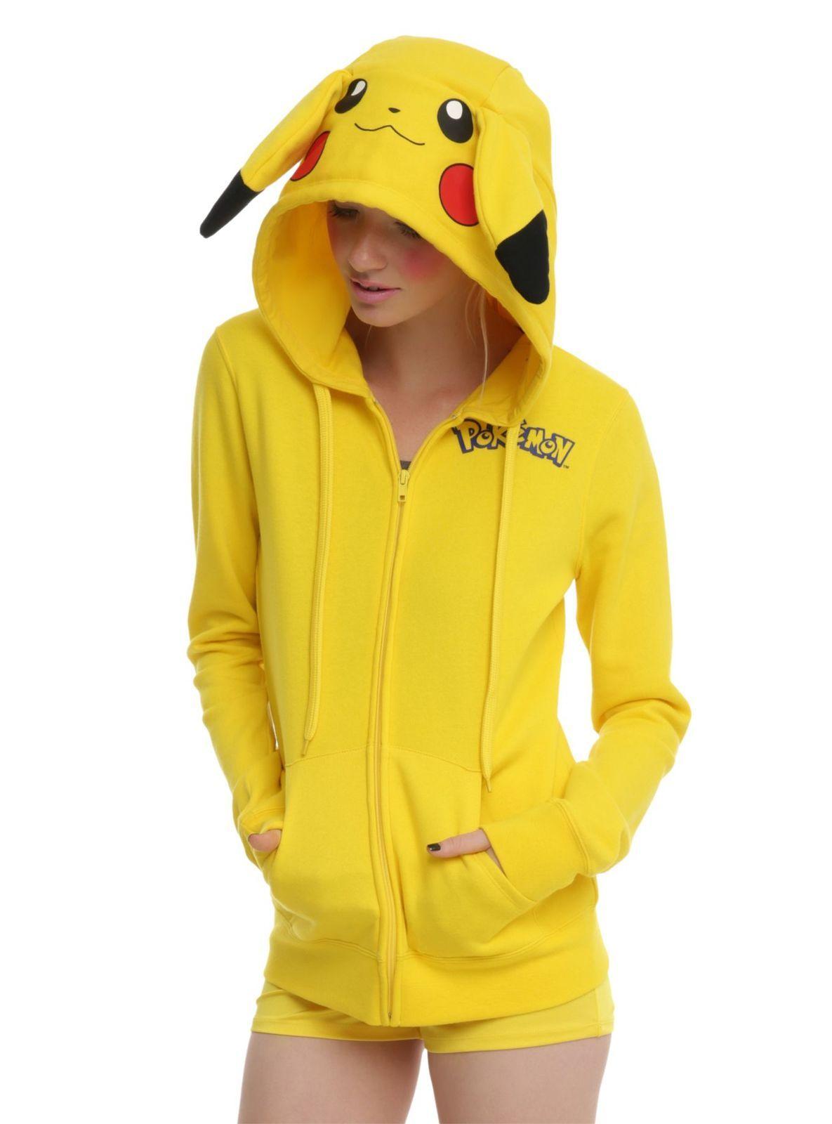 f02009622 Pokemon Girls and Boys' Pikachu Detective Costume Hoodie - Sweatshirts,  Hoodies