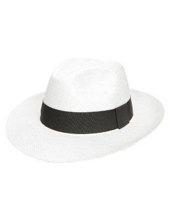 Chapeau fedora homme Classic Paille