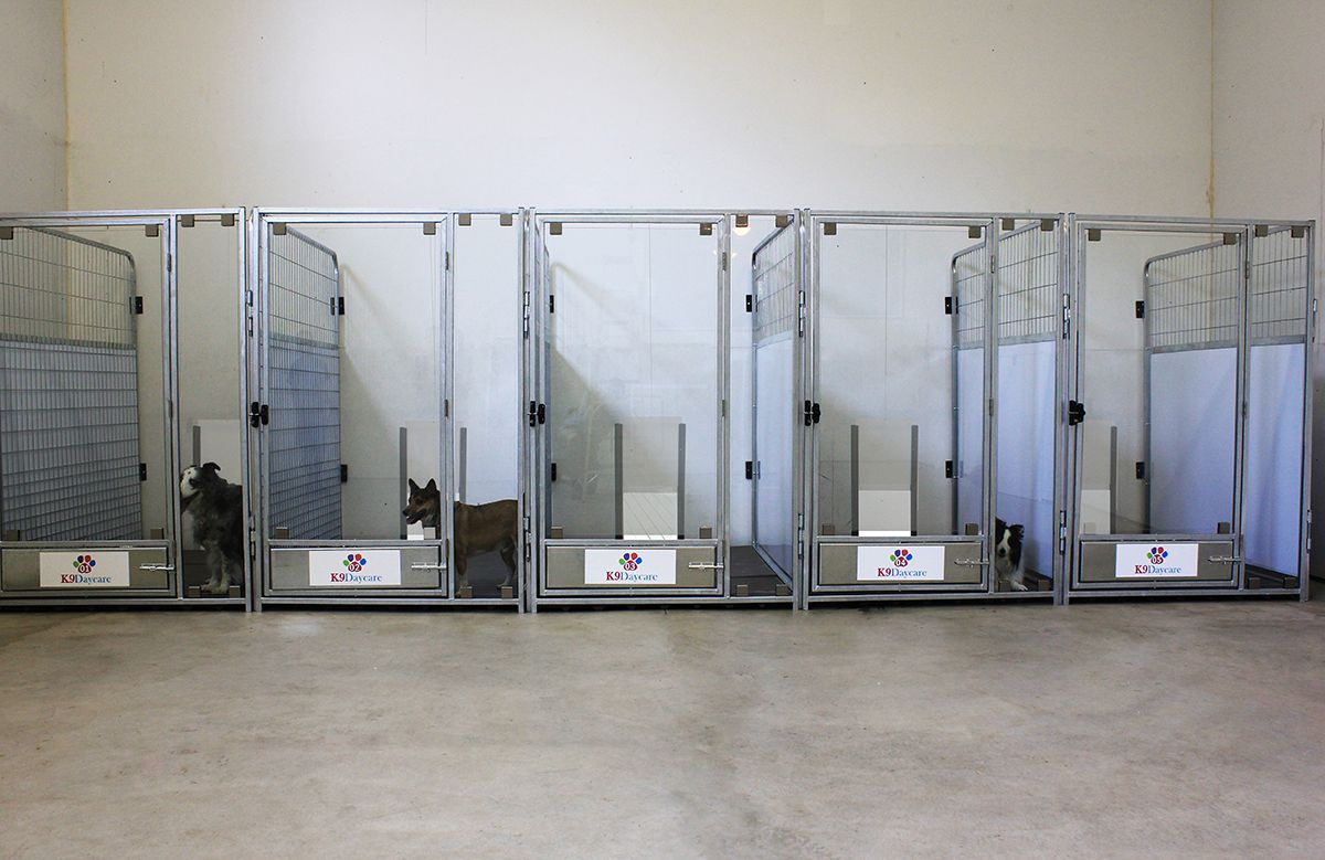 The K9 Kennel Store tempered glass kennel door provides a luxurious open-boarding look with out sacrificing durability. Glass kennel doors provide ... & The K9 Kennel Store tempered glass kennel door provides a luxurious ...