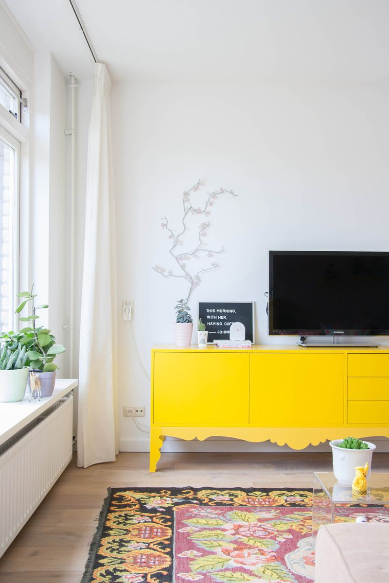 Home Tour: Quirky and Collected Living | Room, Interiors and Bench