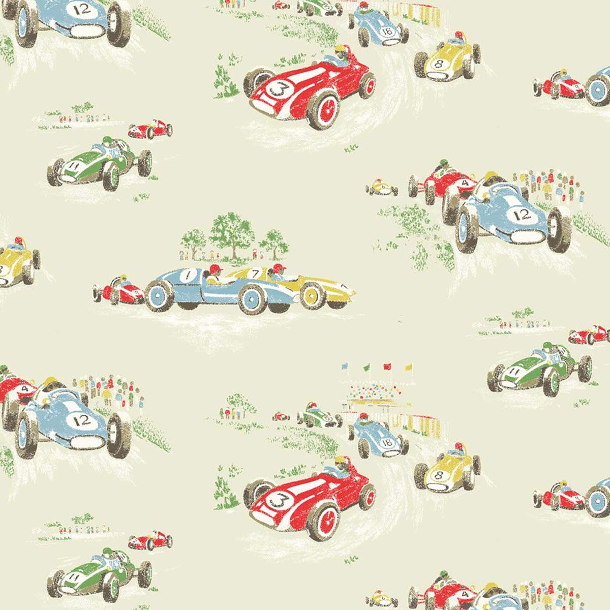 Charmant Wallpaper | Vintage Car Wallpaper | CathKidston...so Cute For A Boyu0027s Room
