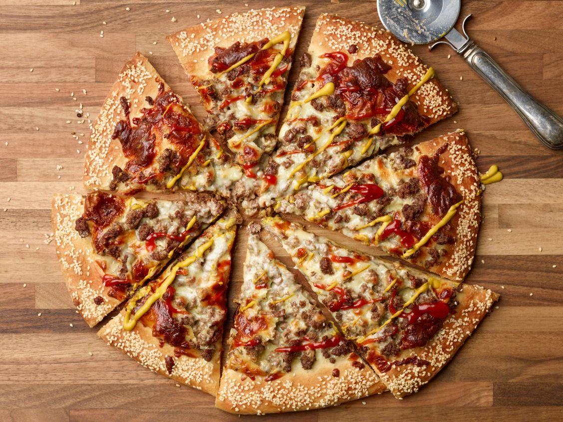 Cheeseburger Pizza Recipe Food Network Recipes Recipes Food