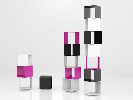 Design · Freistehendes Modulares Bücherregal ...