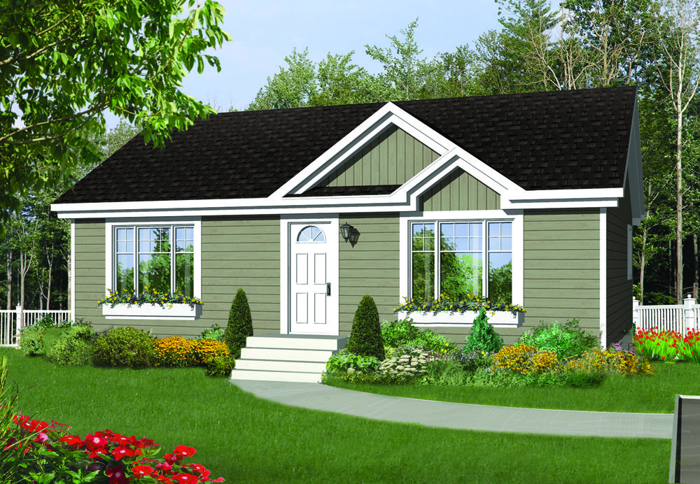 Guildcrest Modular Home Paate 936 Sq Ft 2 Bed 4pc Bath One Storey House Home Builders Modular Homes