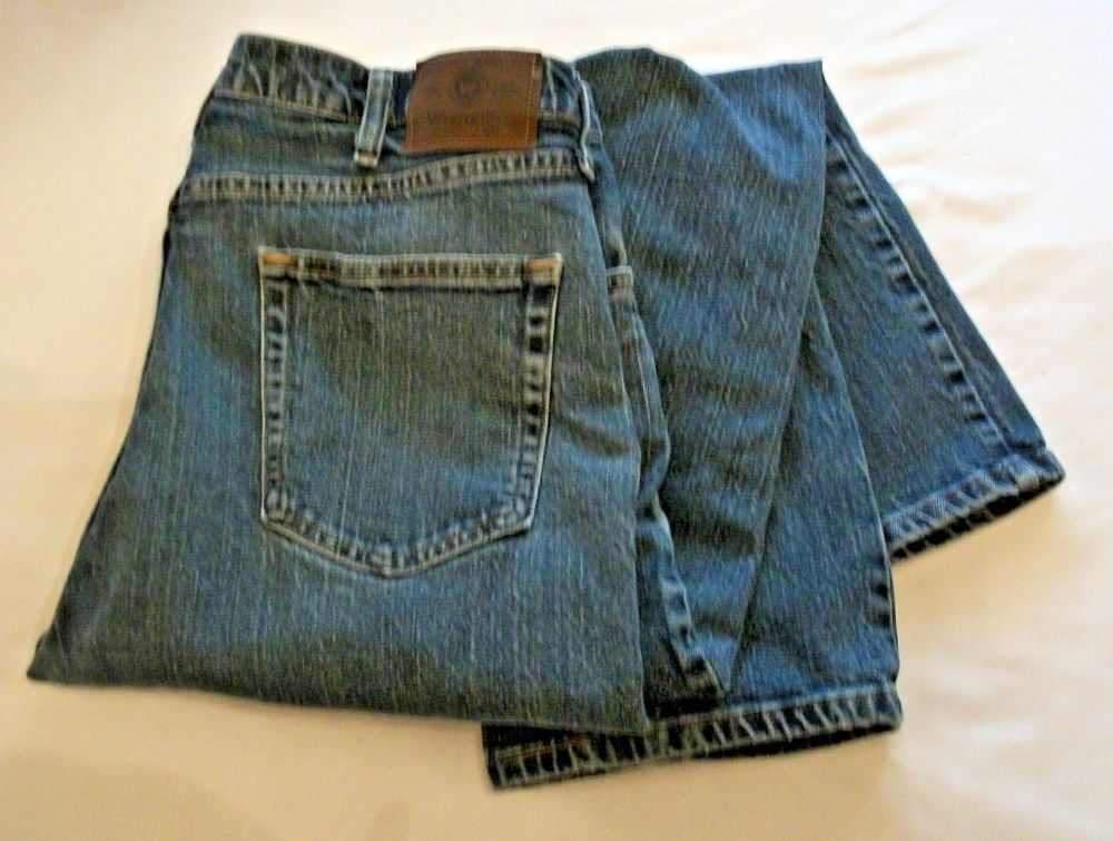 9d9bdff5 Men's Wrangler 36 X 30 Advanced Comfort Regular Fit Jeans 9WRGAMD #Wrangler  #Relaxed