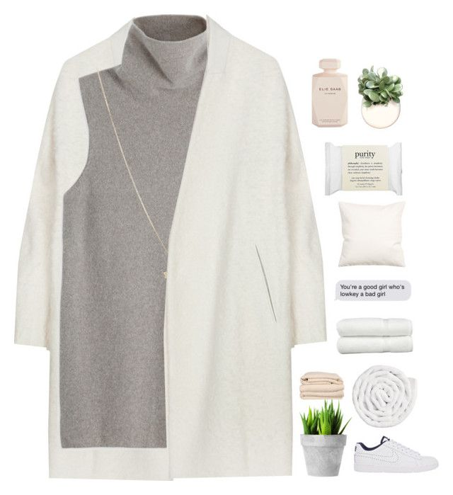 PURE // read d PLEASE by samiikins on Polyvore featuring The Row, NIKE, ASOS, philosophy, H&M, VIPP, Linum Home Textiles, Brahms Mount, Elie Saab and kikitags