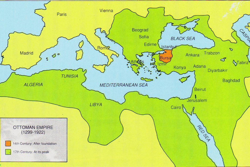 the ottoman empire became to large to be managed in the late 17th