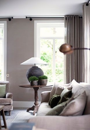klassieke ramen woonkamer   Deco   Pinterest   Interiors and House