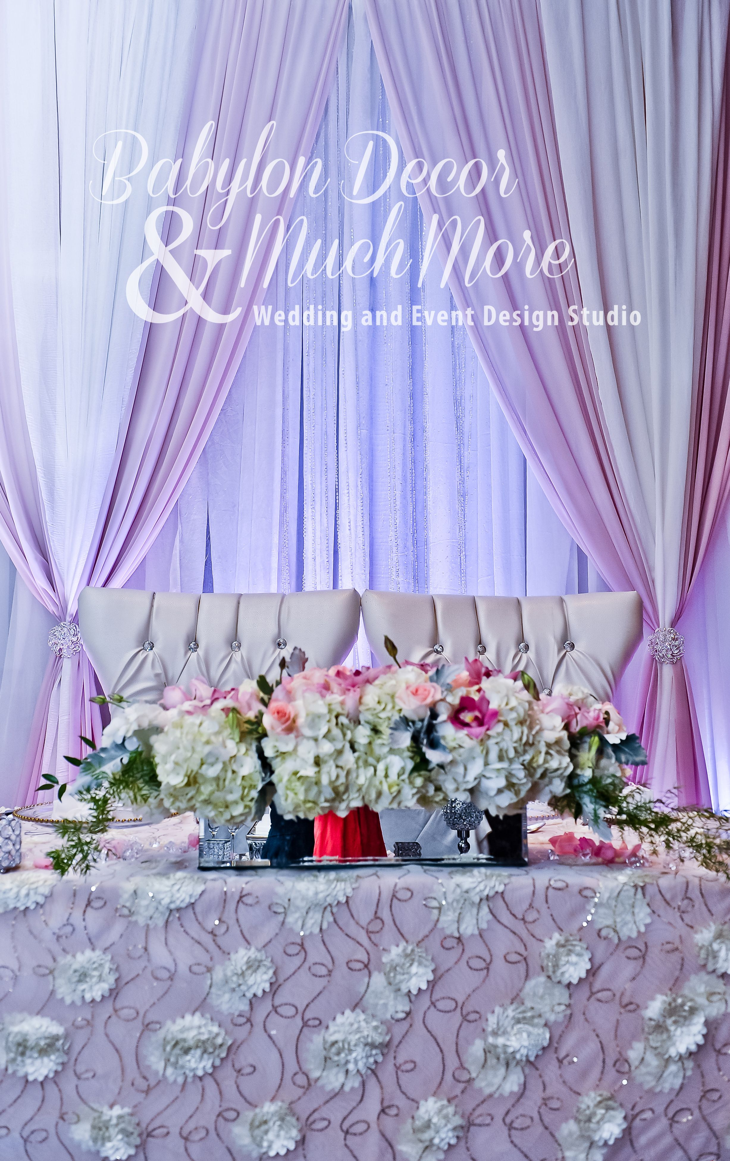 Wedding Headtable Decor Weddingdecor Flowers Backdrop