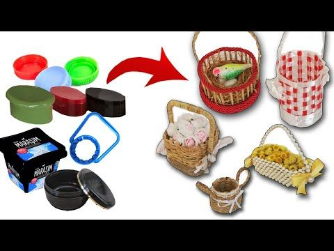 Cestini decorativi e regalo - YouTube