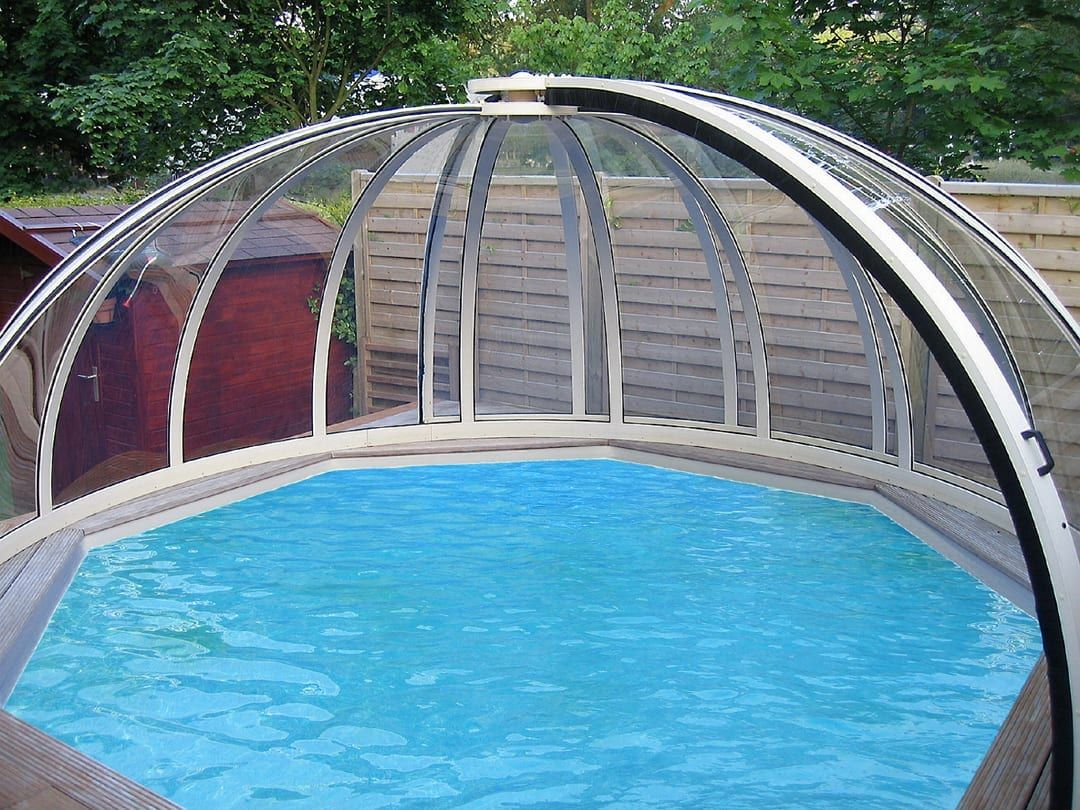 High Level Pool Dome High Level Pool Enclosure My Pool Direct Swimming Pool Enclosures Pool Enclosures Swimming Pools