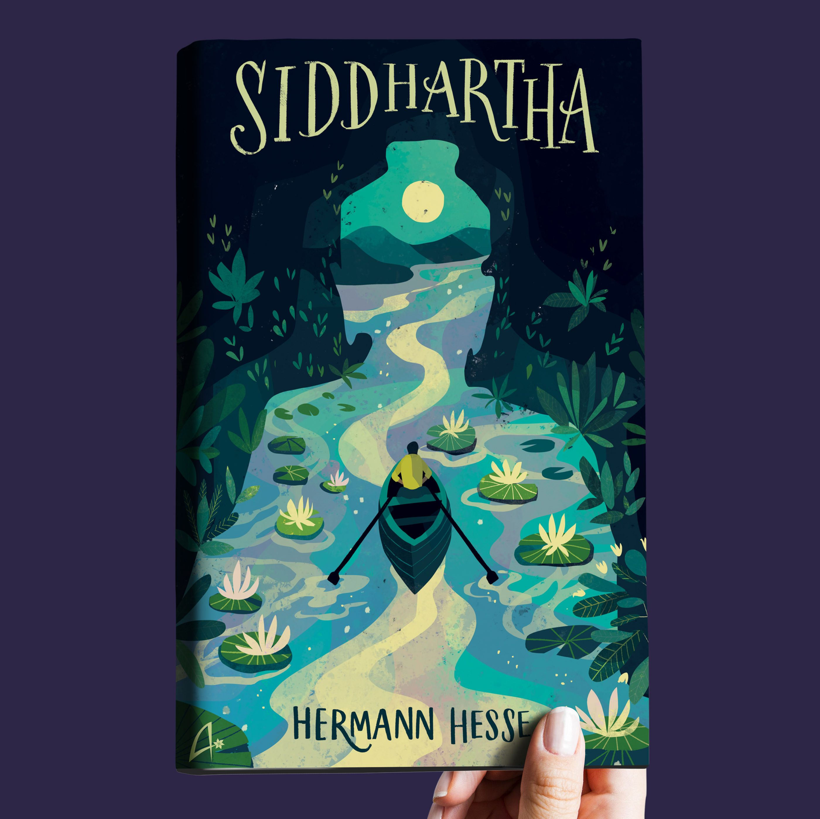 Nice Book Cover Design Of Siddhartha By Hermann Hesse Book Cover Illustration Book Cover Art Design Book Cover Design Inspiration