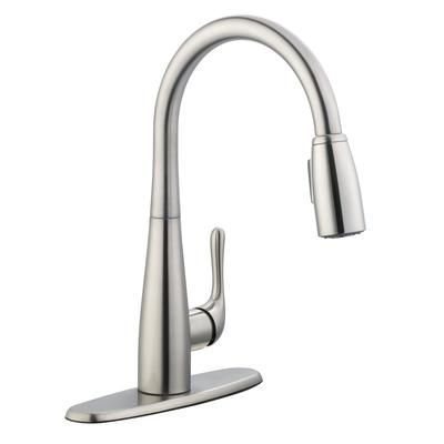 Home Depot Kitchen Faucet | Glacier Bay 900 Series Pulldown Kitchen Faucet In Stainless Steel