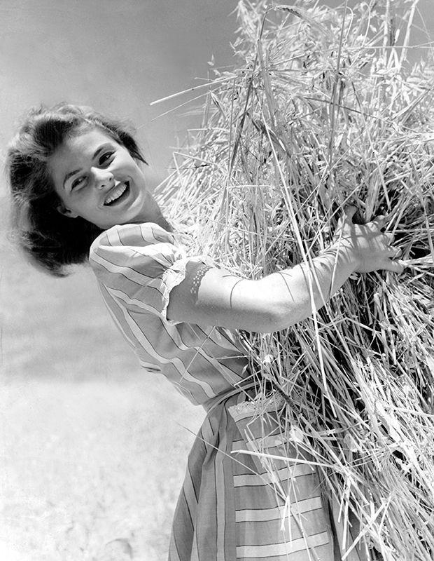 Die Kamera liebte Ingrid Bergman schon früh. Vor ihr besticht die schwedische Schauspielerin gerade durch ihre Natürlichkeit. Das Bild zeigt sie in den dreißiger Jahren.