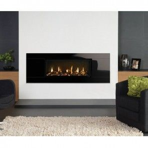 Gazco Studio 1 Glass Fronted Conventional Flue Gas Fire with