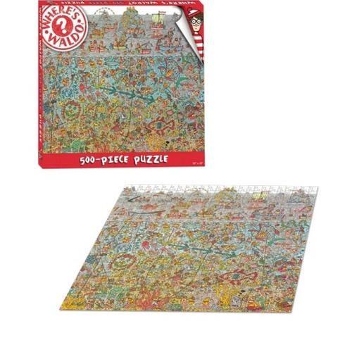 Where S Waldo 500 Piece Puzzle 500 Piece Puzzles Wheres Waldo Puzzle