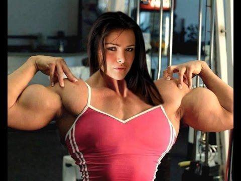russian muscle woman