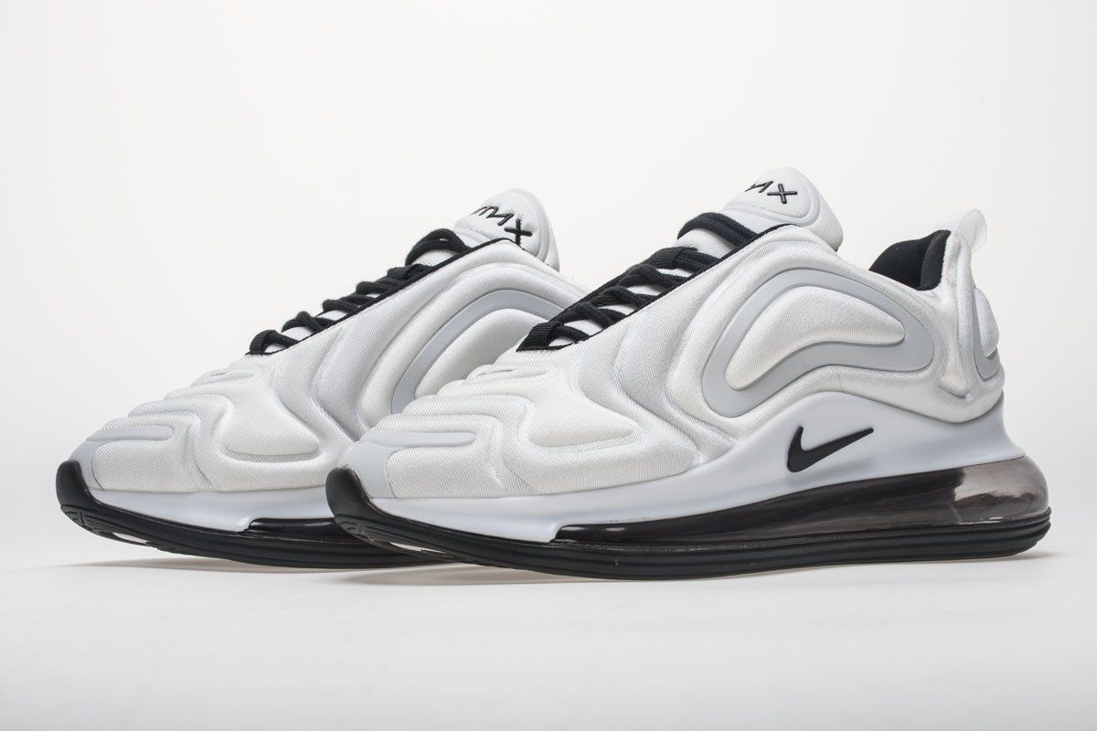 Fashion Mens Nike Air Max 720 KPU For Sale White Black