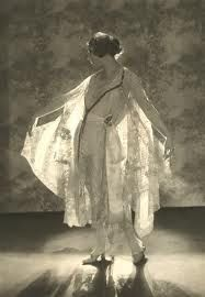 1919 Baron de Meyer ,Model Wearing Lace Dress