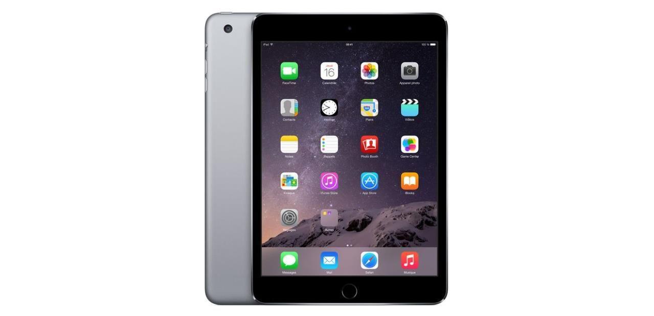 Bon Plan Ipad Mini 3 Wi Fi 4g De 128 Go 389 97 Avec Le Code Super5 Soldes Refurbished Ipad New Apple Ipad Ipad Mini