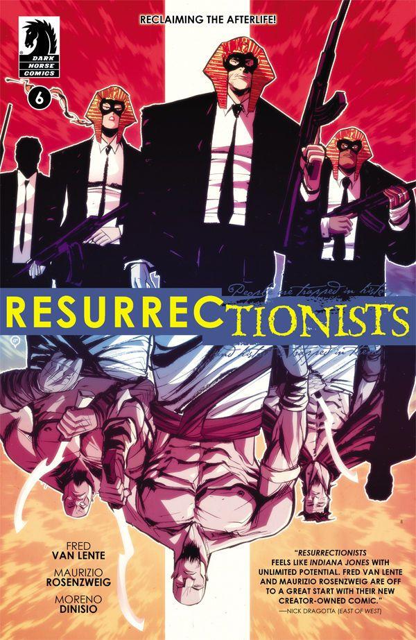 Comic Book Review: Resurrectionists #6 #DarkHorse #FredVanLente #MaurizioRosenzweig