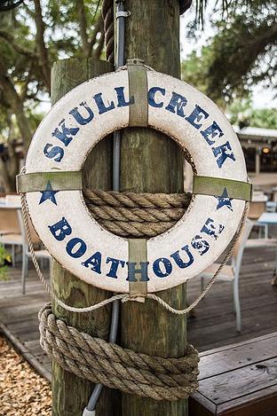 Skull Creek Boathouse Landmark Waterfront Restaurant