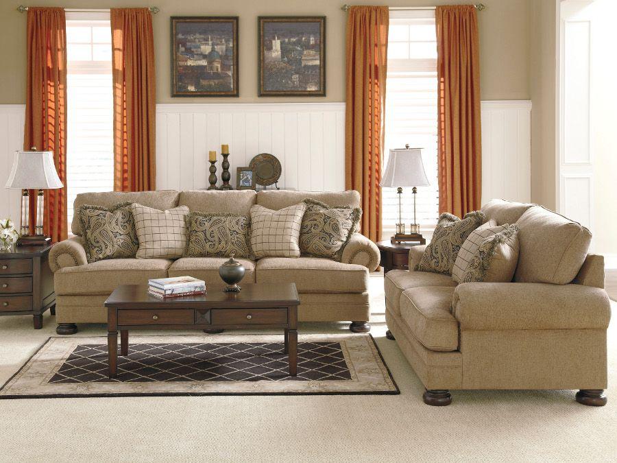 keereel sand sofa & loveseat #sofa #loveseat #livingroom #rana