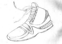 Basketball Shoes, Jordanu0027s. Draw. Pencilu0027s