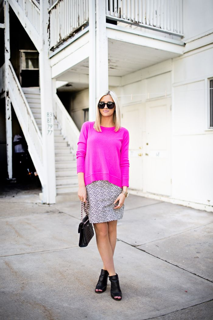 More Ways To Wear: Your Favorite Pink Sweater By Little Miss Fearless
