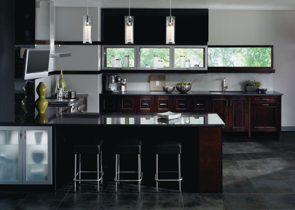 Kitchen Craft Cabinet Doors Kitchen Craft Sapri Door Style On Maple With Espresso Finish A
