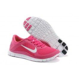 Helt Nye Nike Free 4.0 Pink Hvid Dame Sko Skobutik   Sælge Nike Free 4.0 Skobutik   Nike Free Skobutik Online   denmarksko.com