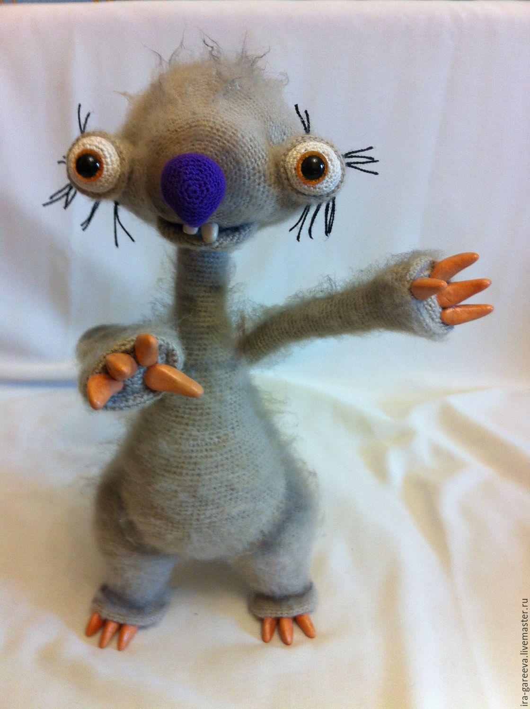 Игрушка ленивец своими руками фото 874