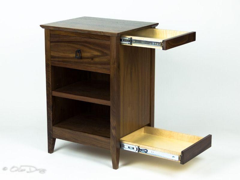 Secret Agent Nightstand Secret Compartment Furniture