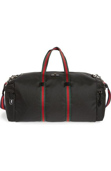 e8eb9f1d4033 GUCCI Techpack Canvas Duffle Bag. #gucci #bags #shoulder bags #hand bags # canvas #polyester #