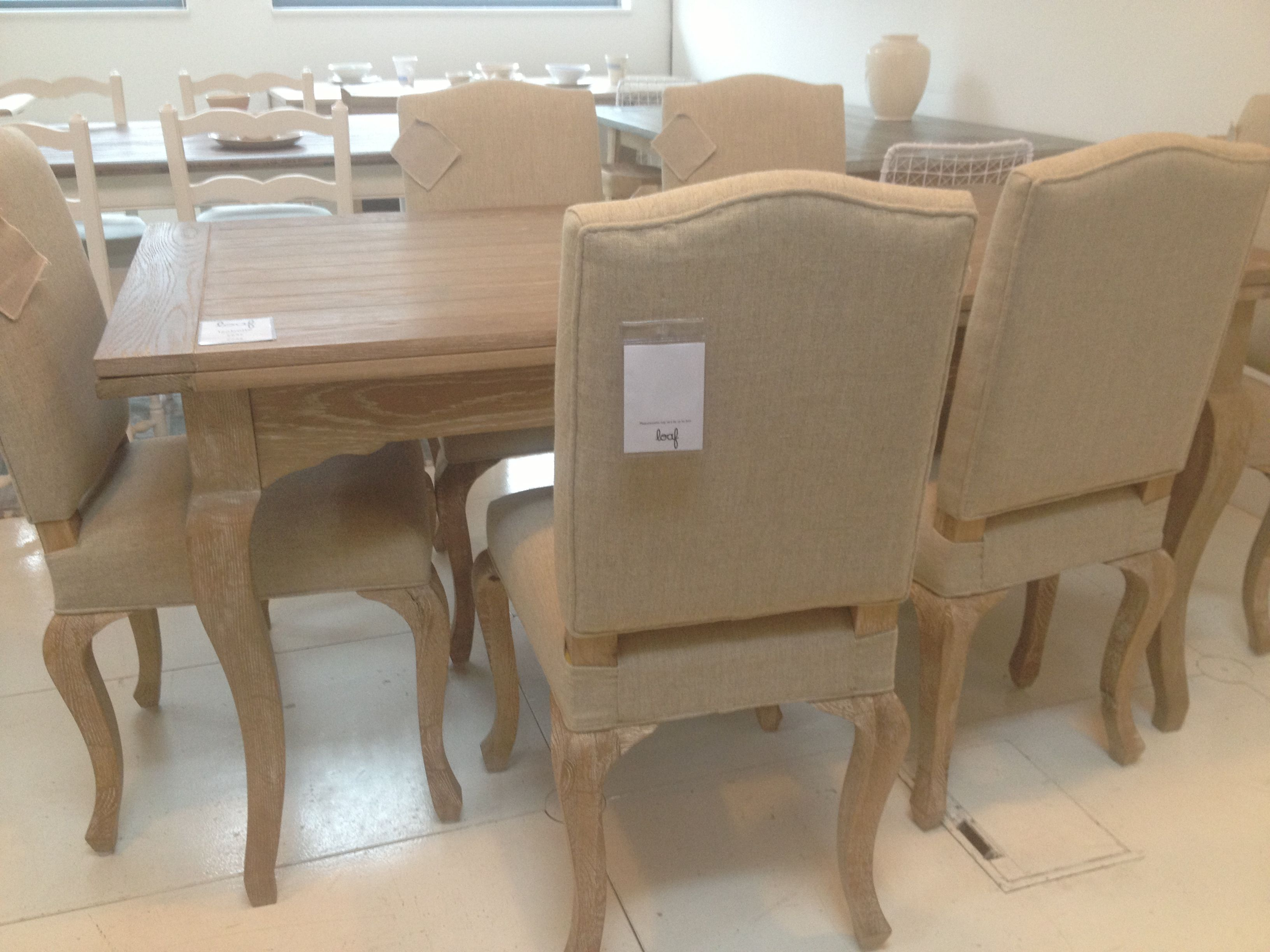 Isabelle Table And Sunday Dining Chairs At Loaf In Love