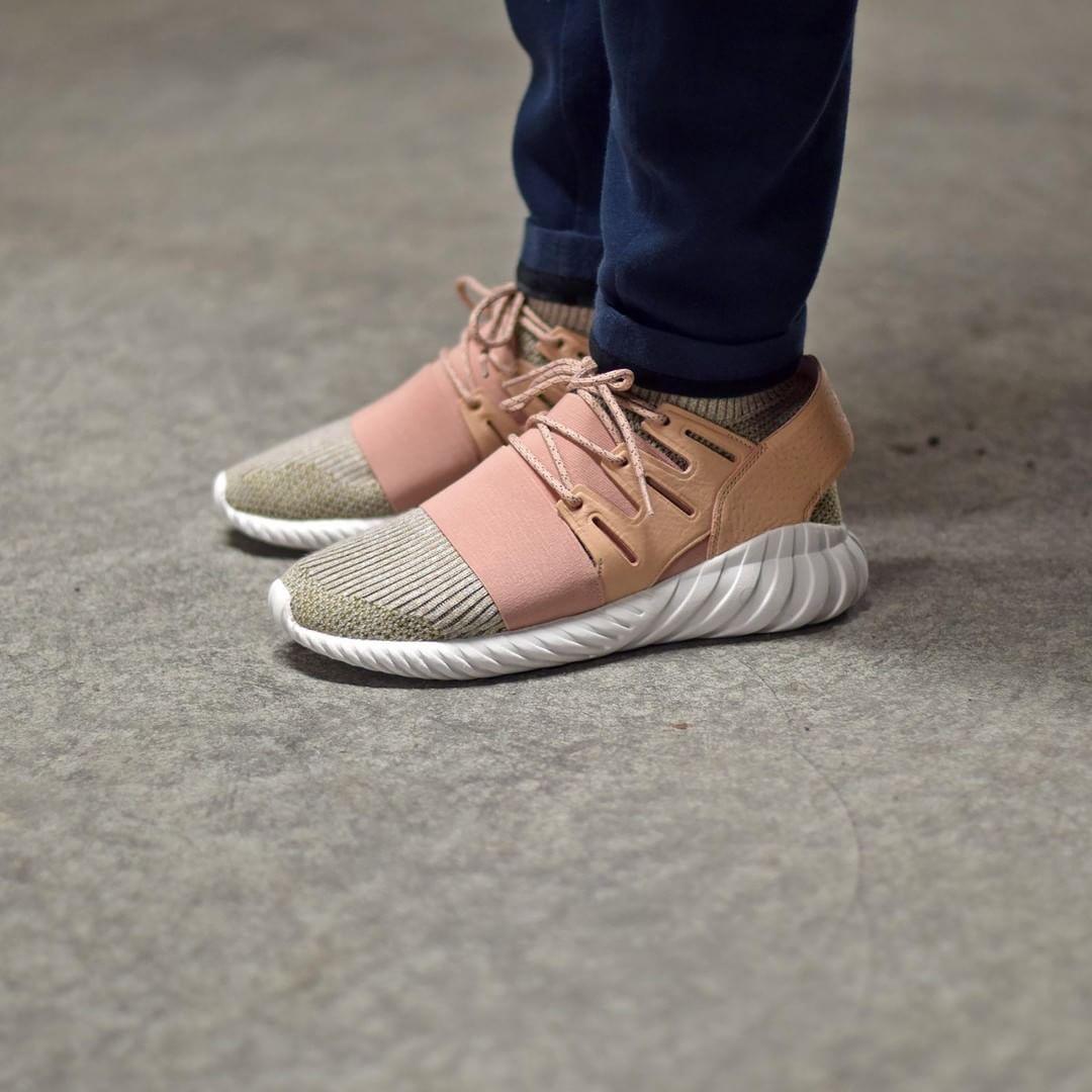 Cheap Adidas Originals Shoes Tubular Doom Sock PK Sesame/Sesame