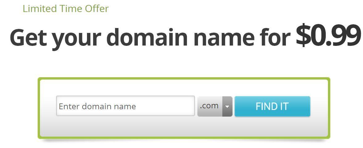 99 Cent Domain Register Comparison Domain 99 Cents Domain Registration