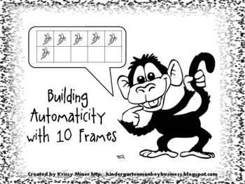Building Automaticity With Ten Frames Kindergarten Mini