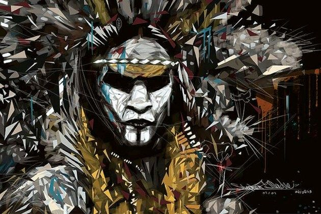 Moonshot the Indigenous colletion celebrates being aboriginal amazing art !