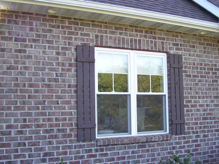 cottage shutters exterior pictures | Shutters, Vents and Exterior ...