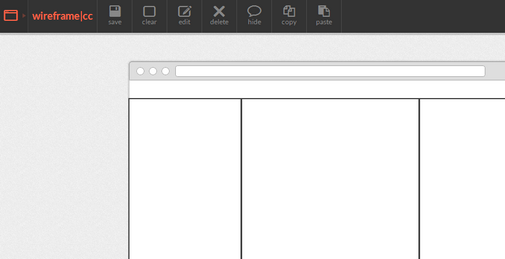 Wireframe. cc is a simple and minimal wireframing tool which allows ...