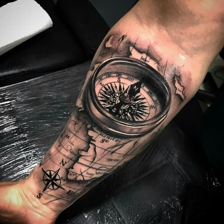 compass map tatoo pinterest kompass tattoo ideen und tattoo vorlagen. Black Bedroom Furniture Sets. Home Design Ideas
