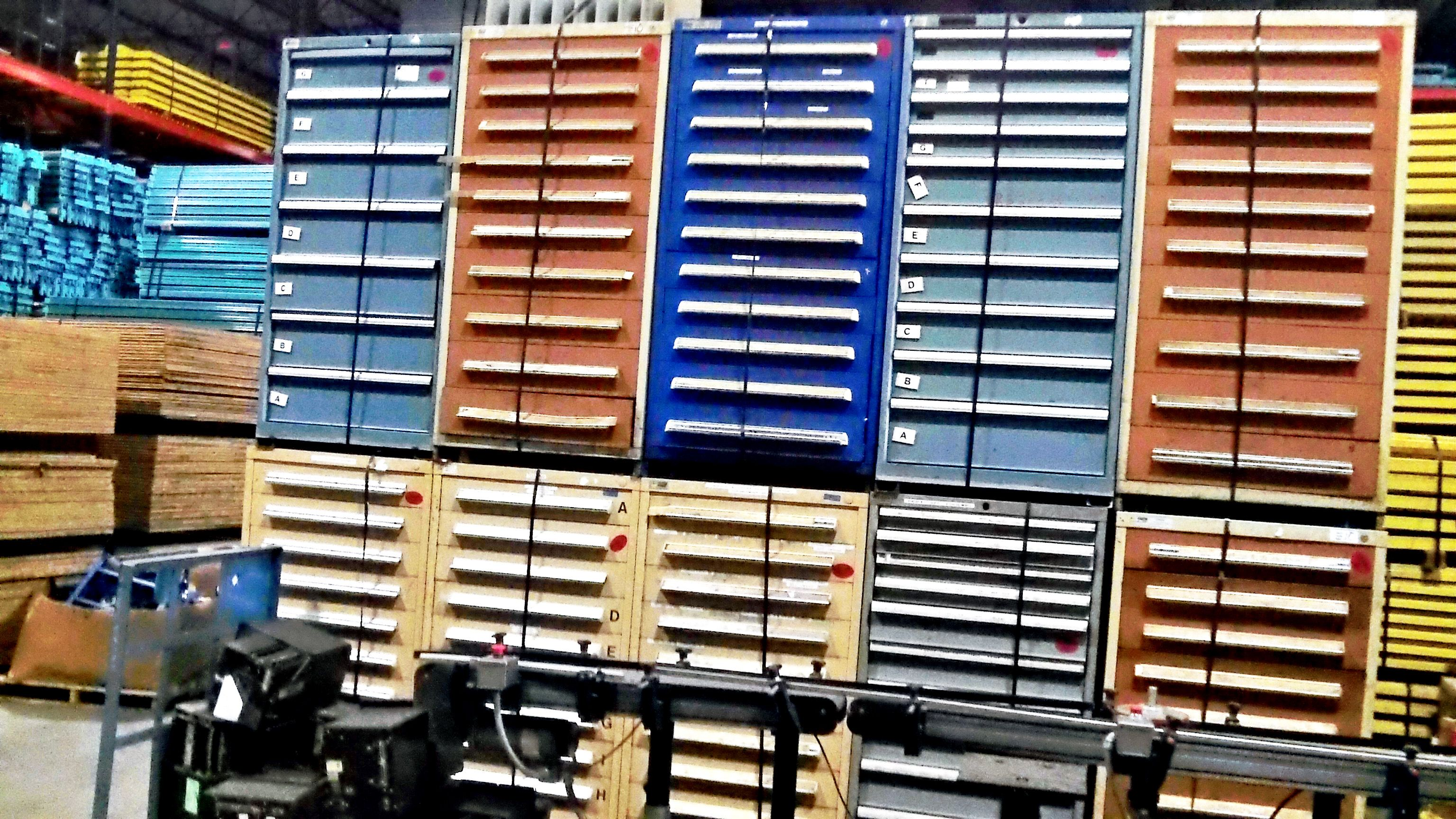 More Stanley Vidmar Tool Storage Cabinets We Have A