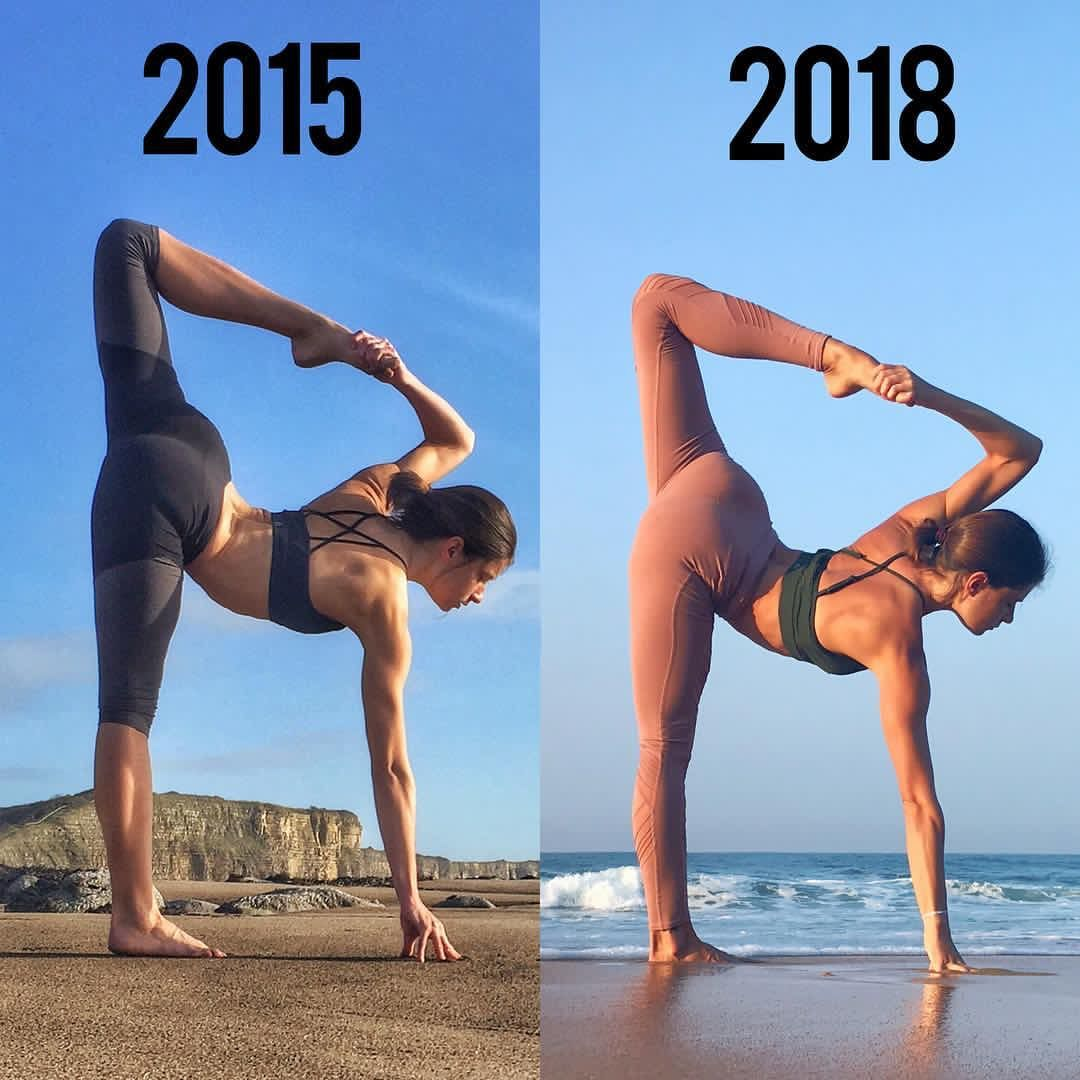 Результаты йоги для похудения