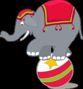 circus elephant clip art proyecto el circo pinterest clip art rh pinterest com circus elephant clip art free circus elephant clipart black and white